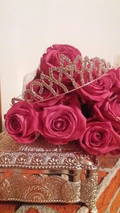 #crown #princess #roses #pink #birthday #18 #love #friends #party