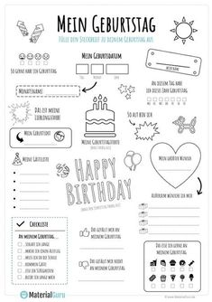 Steckbrief Geburtstag - julia s - Bildungsniveau Steckbrief Geburtstag julia s Kindergarten Portfolio, Kindergarten Writing, German Language Learning, Welcome Letters, Baby Album, Learn German, Letter I, Classroom Management, Are You Happy
