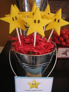 Star Power Cookie Pops