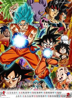 Dragon Ball: Calendario 2017. — DragonBall.UNO