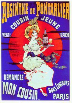 Liquor Absinthe De Pontarlier