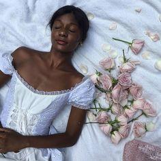 Art Hoe Aesthetic, Black Girl Aesthetic, Black Fairy, Fairytale Fashion, Ideas For Instagram Photos, Princess Aesthetic, Pretty Black Girls, Pure Beauty, Black Girl Magic