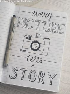 Easy Bullet Journal - Wie kreativ wird - Chloe Home I . - Easy Bullet Journal – Wie kreativ wird – Chloe Home I … Calligraphy Quotes Doodles, Doodle Quotes, Hand Lettering Quotes, Doodle Lettering, Calligraphy Diy, Doodle Art Letters, Doodle Art Journals, Creative Lettering, Typography Quotes