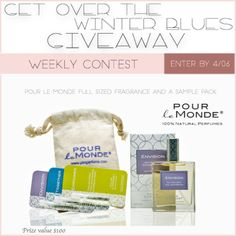 [Gleam] Get Over Winter Beauty Blues Weekly Winners Prize $100... IFTTT reddit giveaways freebies contests
