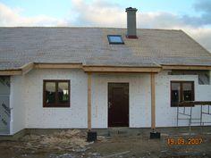 Modrzewiowy #dom #projekt #budowa