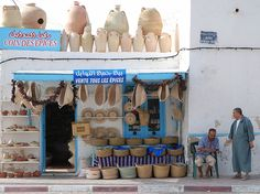 Tunisia - Djerba shopping by g.jacobs, via Flickr