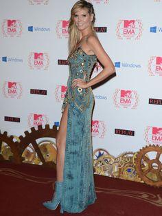 Heidi Klum - EMA 2012