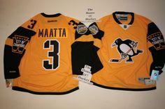 Olli Maatta Pittsburgh Penguins Reebok NEW 2017 Stadium Series Premier  Jersey  Reebok  PittsburghPenguins Hockey 7550a75ca