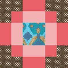 antique tile block
