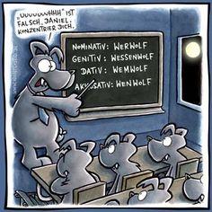 Werwolf :) Grammatik ;) (Deutscher Humor!)