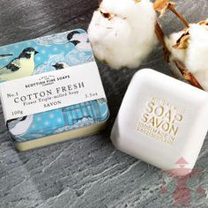 Scottish Fine Soaps Seife Cotton Fresh aus Schottland