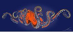 SouzaArte - Caricatura Vendas e Eventos: Title: Octopus http://www.souzaarte.com/#!blogger/c14zn