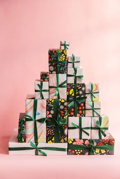 The House That Lars Built wrapping papers for Alexis Mattox Design Merry Christmas, Christmas And New Year, Christmas Holidays, Christmas Decorations, Wrapping Paper Design, Gift Wrapping Paper, Wrapping Papers, Wrapping Presents, Wrapping Ideas