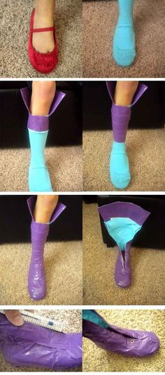 Need a costume that requires custom colored boots or shoes?