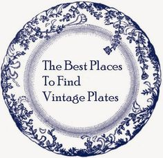 Here Are The Best Places To Find Vintage Plates