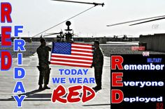 Remember Everyone Deployed, Red Friday, Military Families, Chicago Cubs Logo, Team Logo, United States, The Unit, America, Sports