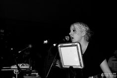 Little Boots and the Tenori-On, live in concert; photo taken by Paul ... Sample great original musical pieces at http://cdbaby.com/Artist/RogerLehman