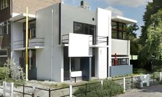 Rietveld Schröder House, The Netherlands (1924)   Gerrit Rietveld