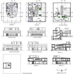 villa savoye dwg - Buscar con Google