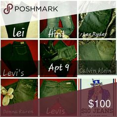 MY LOSS YOUR GAIN BUNDLE AND SAVE 25% 0FF  SPECIALLY PRICED TO SELL QUICK PRICED FROM  $7- $10  TAKE YOUR PICK! Prices start at $7 Take a scroll to the botton of my Closet for the best sale of the Season.  Tag me with your selection and I will do an adjustment for you.  KHAKIS ARE ON SALE TOO!  Thanks for stopping by my Posh Closet.  Please come again soon. Caio Jeans Straight Leg