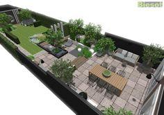 Garden Design Layout - New ideas Urban Garden Design, Garden Design Plans, Japanese Garden Design, Garden Landscape Design, Small Garden Design, Rooftop Garden, Oasis Backyard, Garden Oasis, Garden Pots