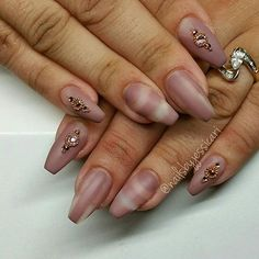 Coffin nails are an edgy nail shape to try out this Halloween.