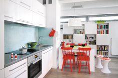 47-metrowe mieszkanie Mikołaja - minimalizm i designerskie dodatki - Dom
