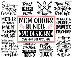 Mom svg bundle Mom life svg Quotes Sayings Gift Sign Mothers Day Quotes, Mom Quotes, Rules Quotes, Short Quotes, Create T Shirt, How To Make Tshirts, Silhouette Studio Designer Edition, Cricut Creations, Funny Signs