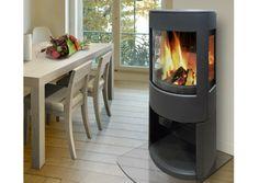 Poêle à bois double combustion DOVRE ASTROLINE4WB Stove Fireplace, New Homes, Home Appliances, Living Room, Wood, Modern, House, Inspiration, Home Decor