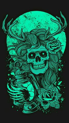 T-shirt artwork for band or clothing line, poster art prints available for sale Dark Fantasy Art, Fantasy Kunst, Art And Illustration, Arte Dope, Dope Art, Dope Kunst, Desenho New School, Wallpaper Bonitos, Skull Wallpaper