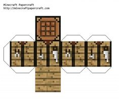 Minecraft Paper Folding Project | Papercraft Minecraft Blocks Picture - Serbagunamarine.com