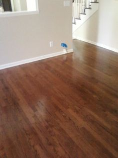Colin likes this color for hardwood floors (chestnut?)  I would love these floors in my house!