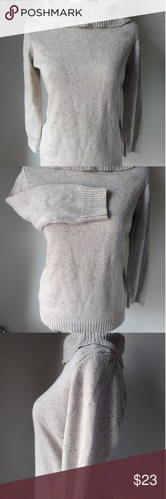 Golden Nude SZ M Charter Club TurtleNeck Sweater This cozy 🔥 turtleneck sweater by Charter Club SZ MEDIUM will be perfect to keep you cozy all this 🍁 fall and through ❄ winter!   With beautiful Golden Threads in within the fabric will always make you shine wherever you go!  Same day shipping if you order before 3 p.m.  Bundle and save 20% 😍    No trades No outside of Posh transactions Charter Club Tops Sweatshirts & Hoodies