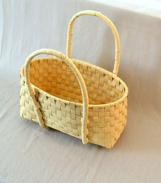 Guatemala  Hand-Woven Basket  Small by PIDcrafts on Etsy