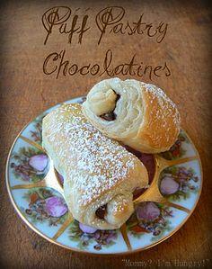 Puff Pastry Chocolatines.