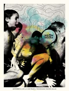 Neon Indian poster