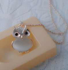 Exquisite Cute Big belly Owl Necklace