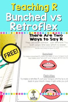 Looking for effective tips for eliciting the R sound? Sign up to get your free handout to help with teaching the R sound and to determine which method is best for each student. Articulation Therapy, Articulation Activities, Language Activities, Phonics, Therapy Games, Speech Therapy Activities, Phonological Processes, Speech And Language, Student