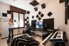 Setting up a home recording studio is a very interesting job for any musician. It is quite different from the professional recording studios.