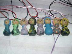 Cuti doll girls fimo porcelana fría polymer clay