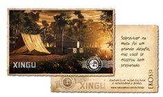 Redescobrindo o Brasil: Uma expedição ao Xingu - http://www.naturaekos.com.br/xingu-game/