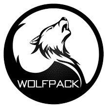 Image result for wolf pack logo