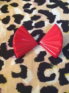 Red Vintage by GlamLifeAccessories on Etsy, $5.00