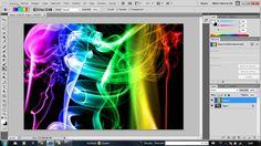 Tutorial humo de colores