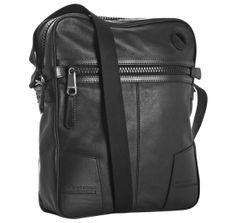 29f2ad91f80b Christian Dior men black leather pocket detail messenger bag 1 Leather  Briefcase