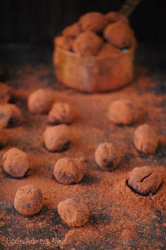 Cocinando con Neus: Trufas de naranja