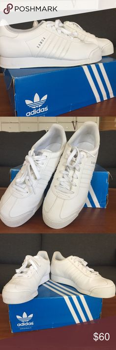 79558e3f1b Adidas Samoa Women shoes, size US 7, color white The shoes were worn once