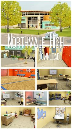 My Sims 3 Blog: Northvale High by Elyf's Simsalabim