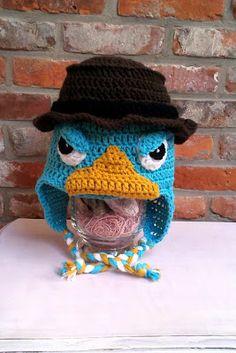 Perry het vogelbekdier muts / Perry the Platypus hat