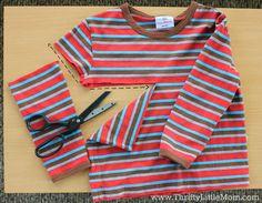 Cropped Kid's Shirt